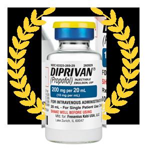 DIPRIVAN ( Propofol) 10mL bottle