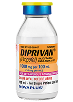DIPRIVAN 1,000 mg per 100 mL