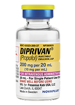 DIPRIVAN 200 mg per 20 mL